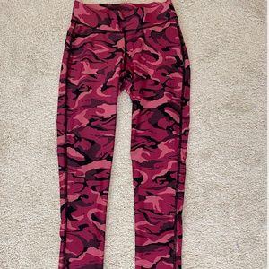 Pink and Black Camo leggings